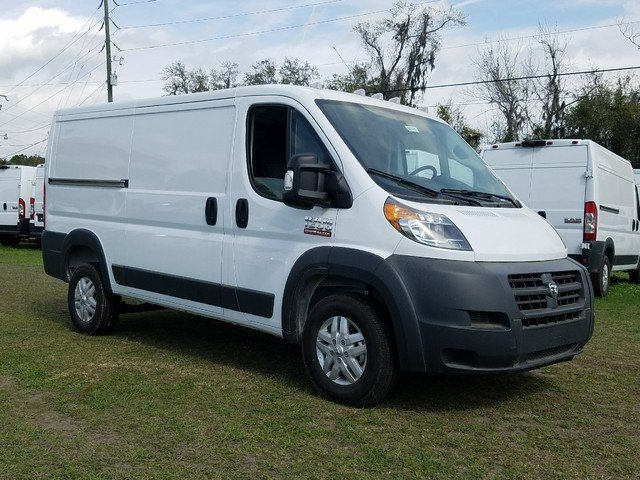 New 2018 Ram ProMaster Cargo Van Low Roof