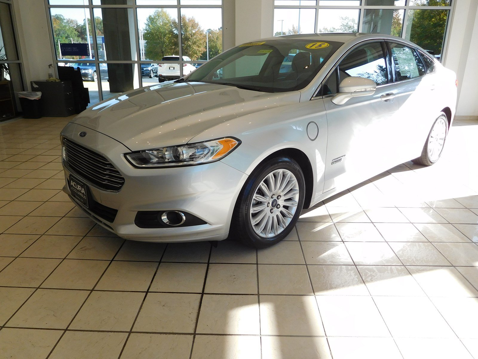 Pre Owned 2015 Ford Fusion Energi SE Luxury 4dr Car in Columbus