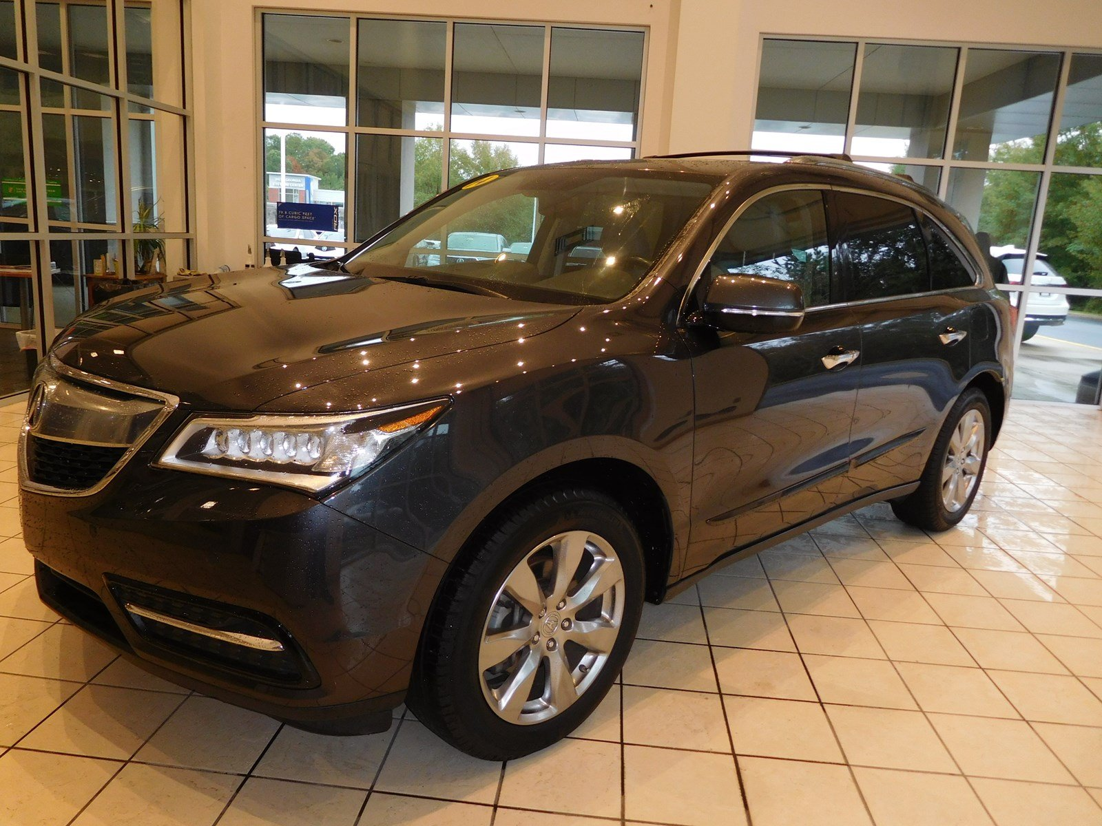 Pre Owned 2014 Acura MDX Advance Entertainment Pkg Sport Utility in