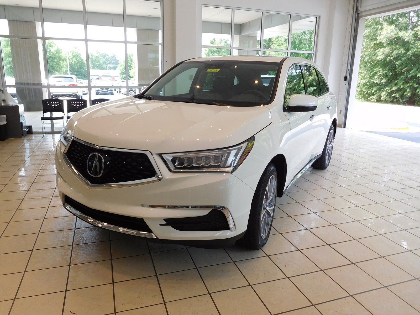 New 2018 Acura MDX w Technology Pkg Sport Utility in Columbus 8941