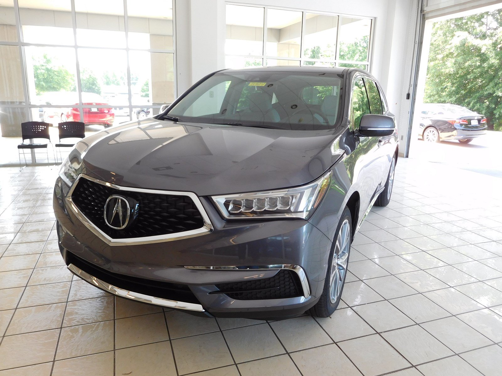 New 2018 Acura MDX w Technology Pkg Sport Utility in Columbus 8924