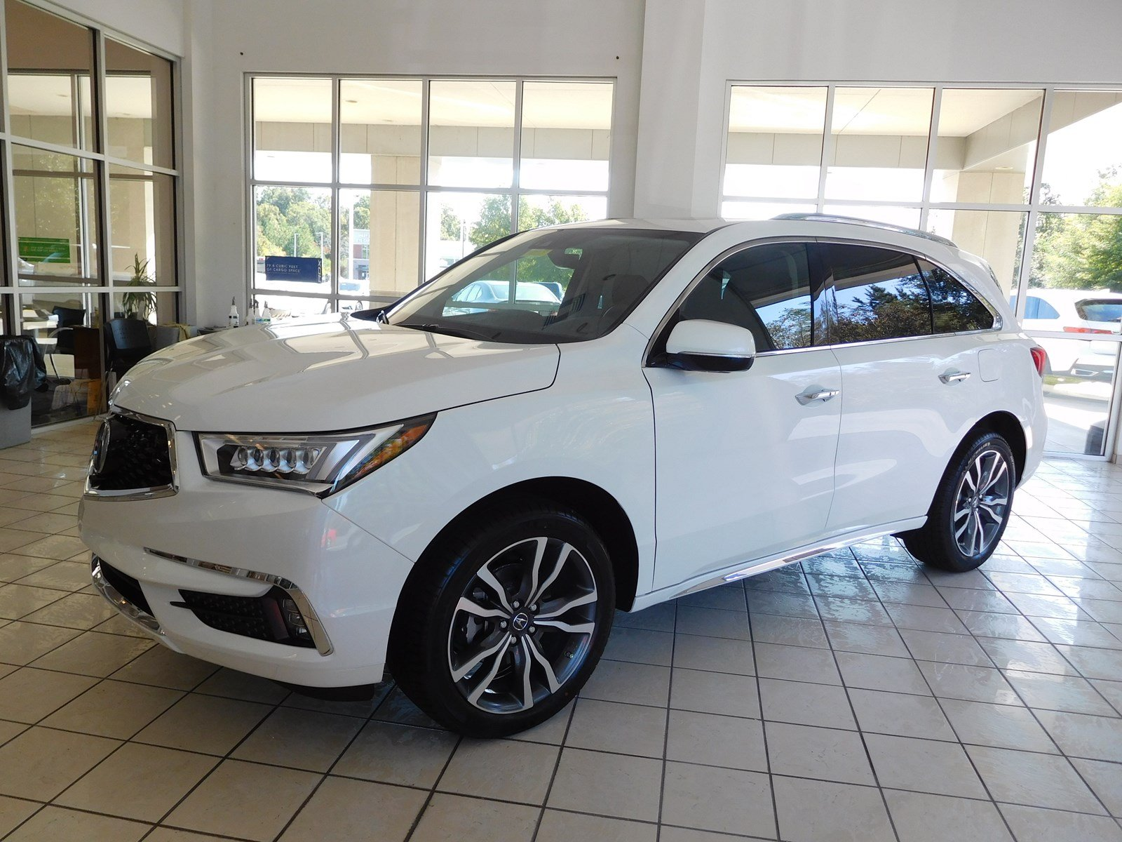 New 2019 Acura MDX w Advance Pkg Sport Utility in Columbus 9057