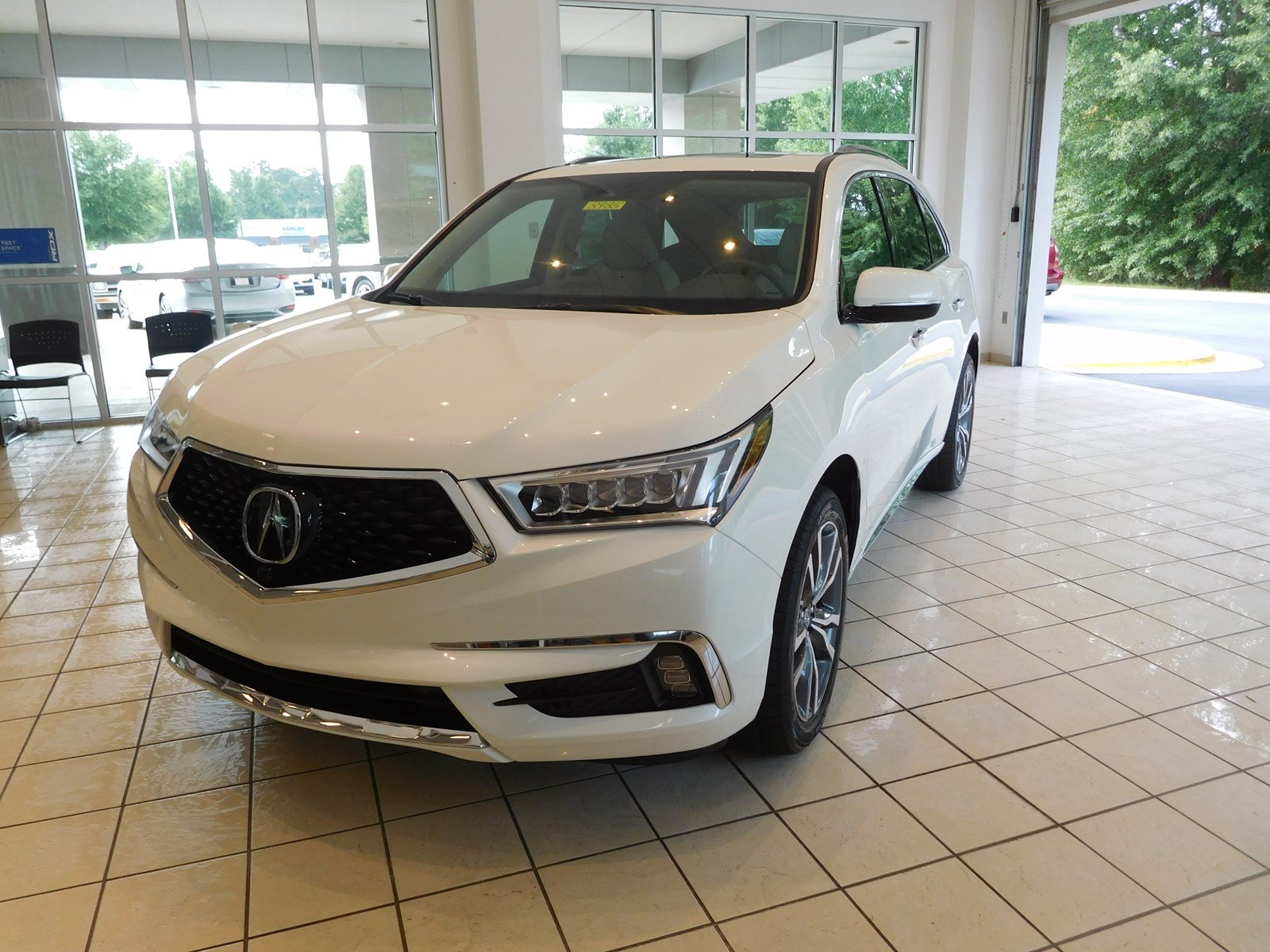 New 2019 Acura MDX w Advance Entertainment Pkg Sport Utility in
