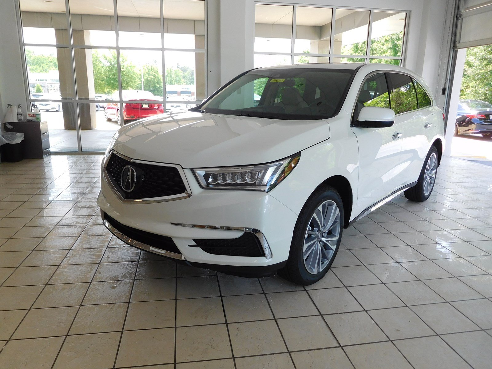 New 2018 Acura MDX w Technology Pkg Sport Utility in Columbus 8900