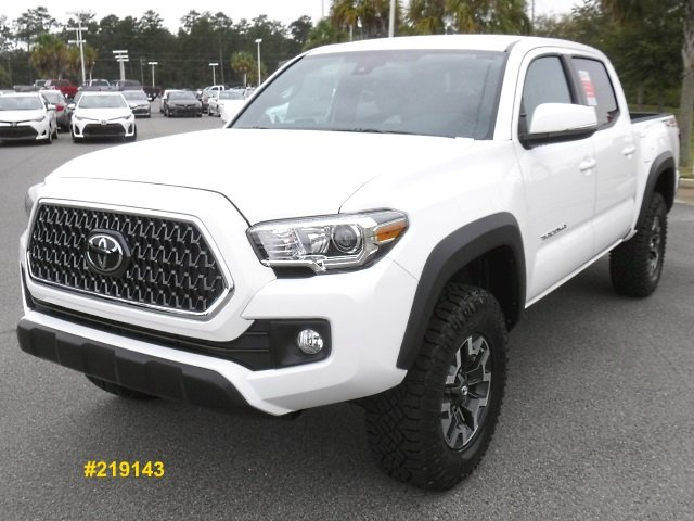 New 2019 Toyota Tacoma Trd Off Road Double Cab 4wd Crew Cab Pickup