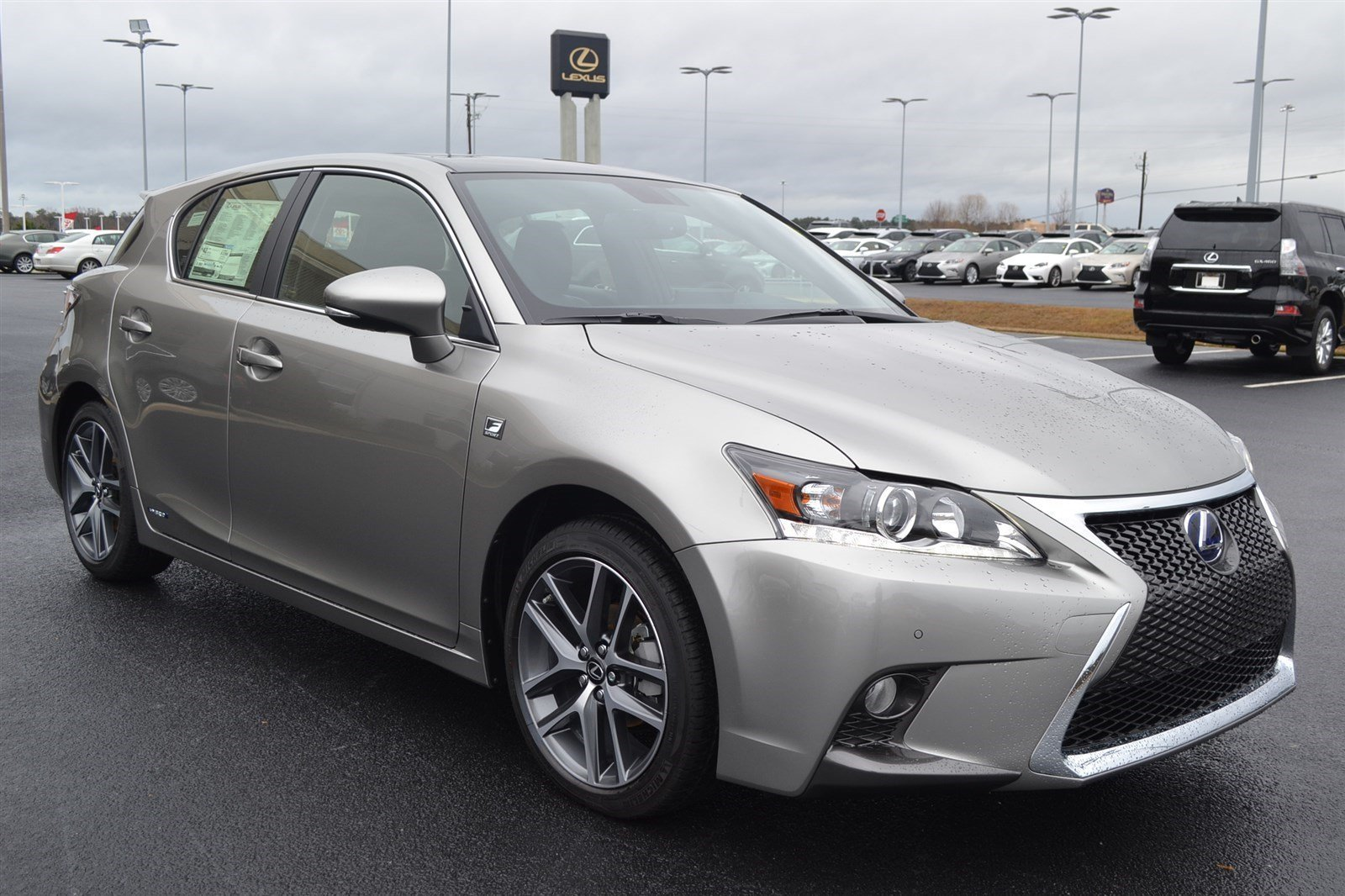 new 2017 lexus ct ct 200h f sport hatchback in macon. Black Bedroom Furniture Sets. Home Design Ideas