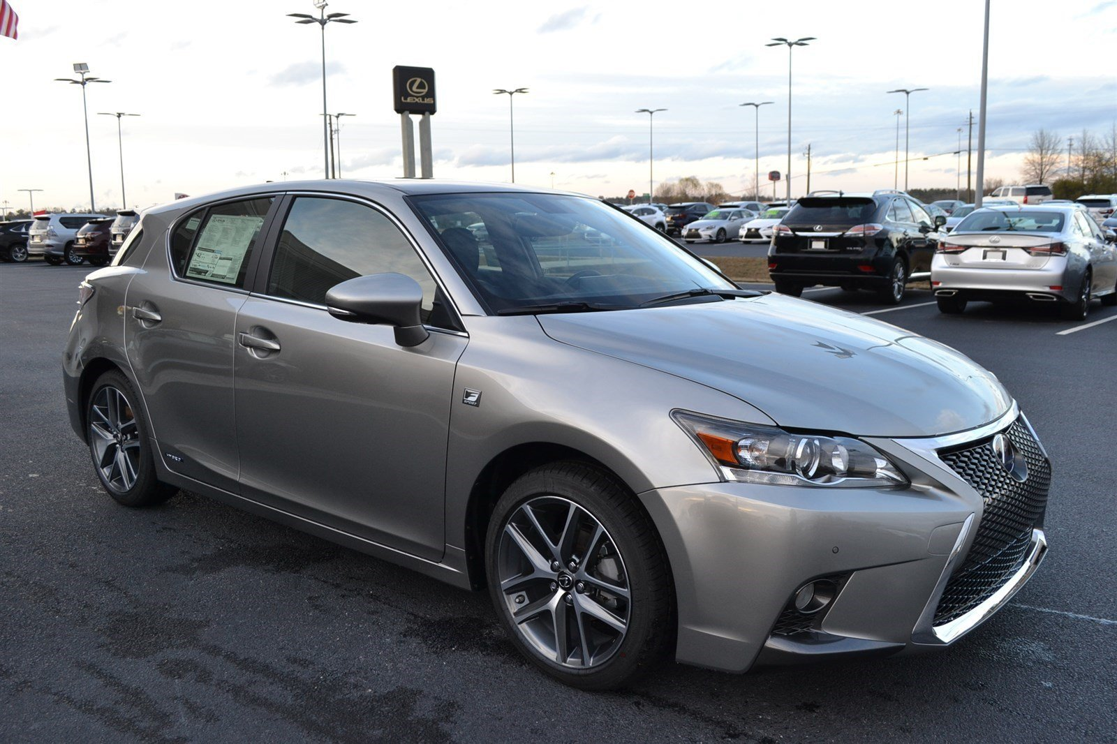 new 2017 lexus ct ct 200h f sport hatchback in macon l17182 butler auto group. Black Bedroom Furniture Sets. Home Design Ideas