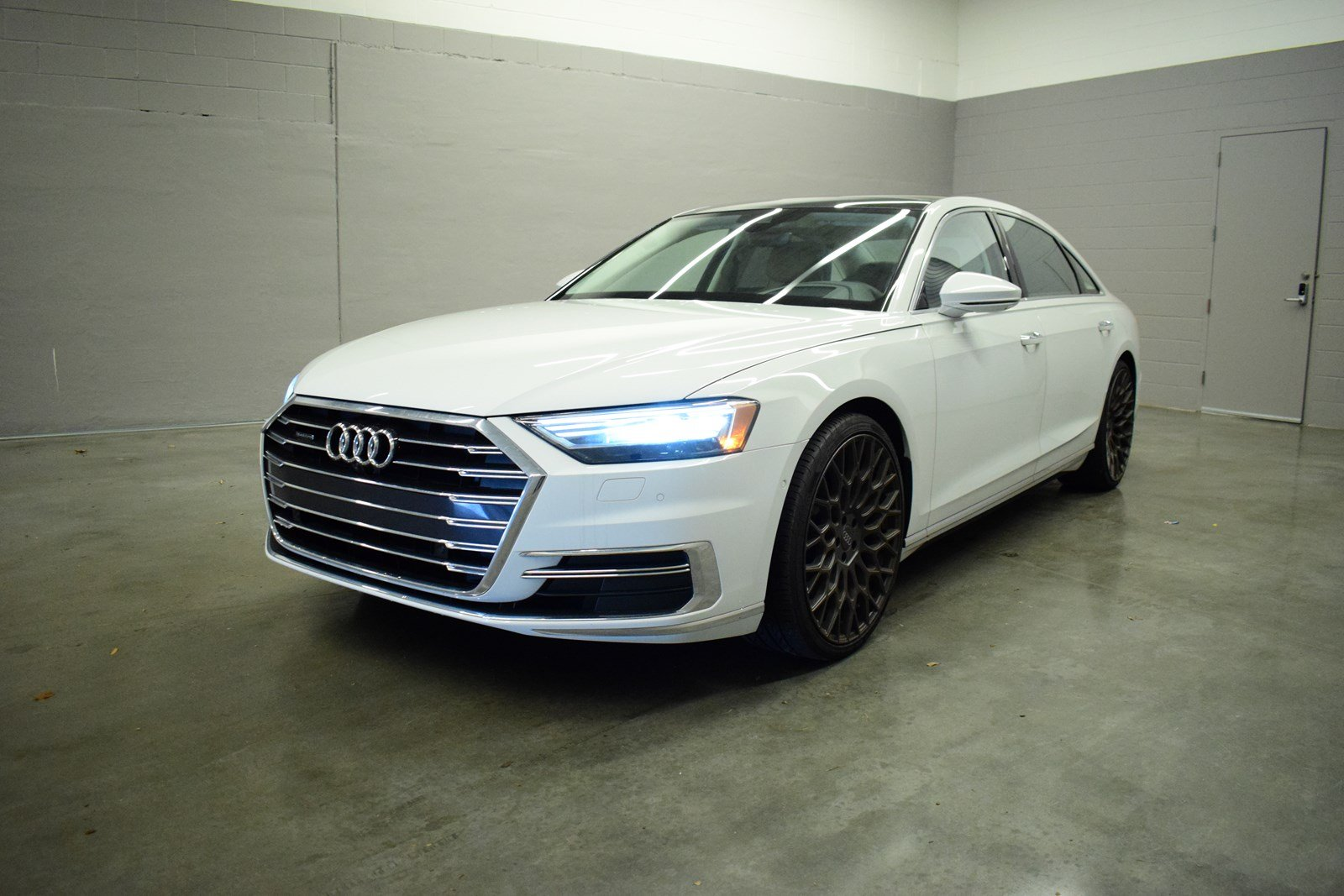 New 2019 Audi A8 L 55 4dr Car In Union City Kn003853 Butler Auto