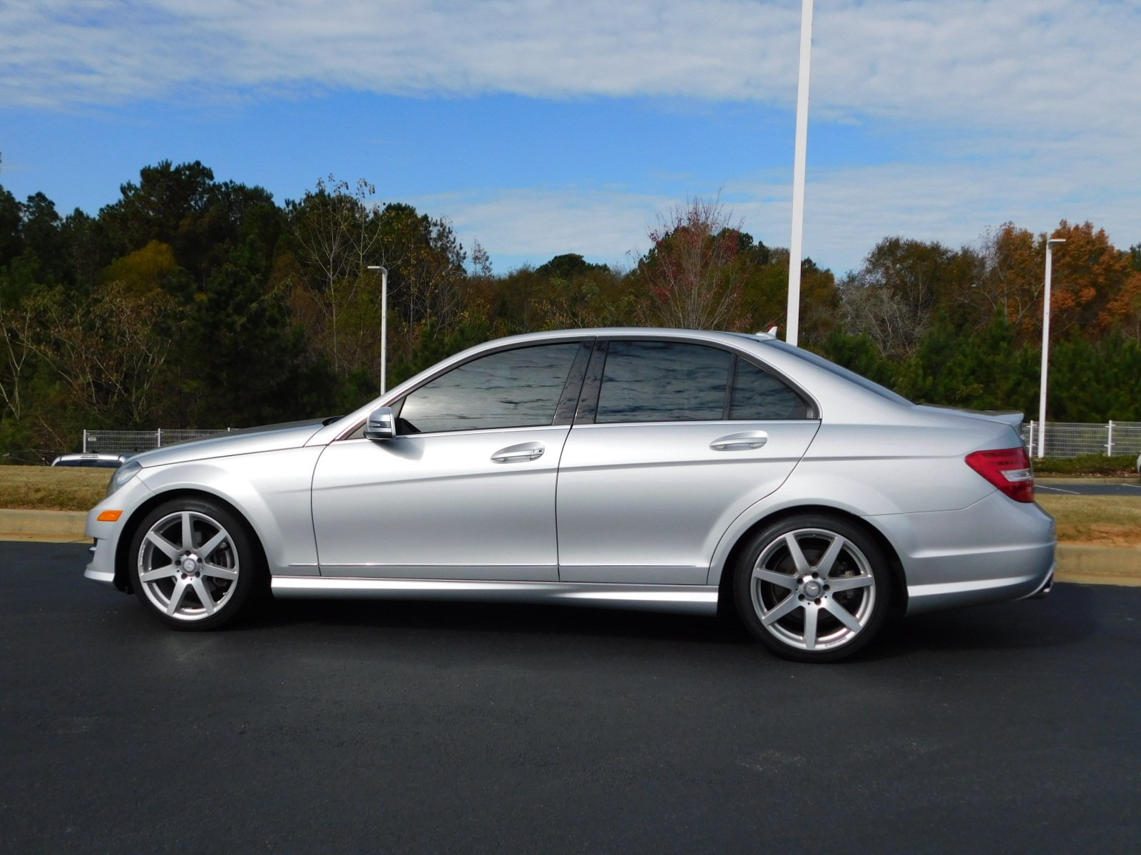 Pre Owned 2014 Mercedes Benz C Class C 250 Sport 4dr Car in Macon
