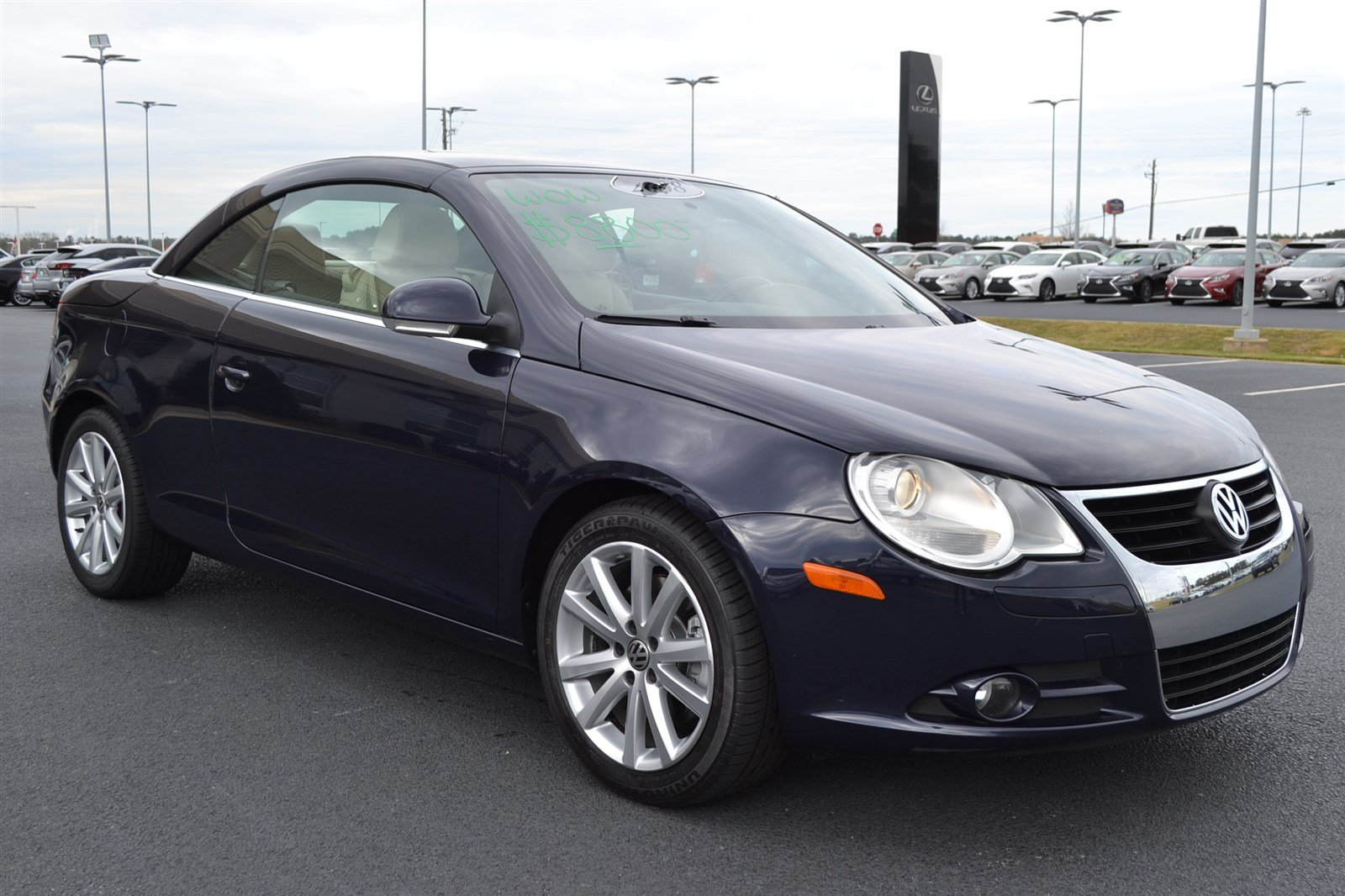pre owned 2008 volkswagen eos convertible in macon l7224r butler auto group. Black Bedroom Furniture Sets. Home Design Ideas