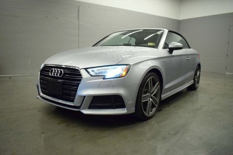 Certified Pre-Owned 2018 Audi A3 Cabriolet Premium Plus